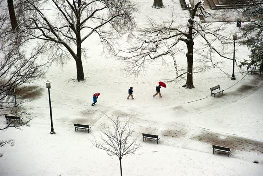 DC Summit . Snow Scenes Feb.2014