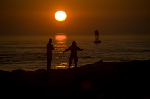 IR Inlet Sunrise. Bethany. Rugosa Rose 5.31.2010_053110_2314