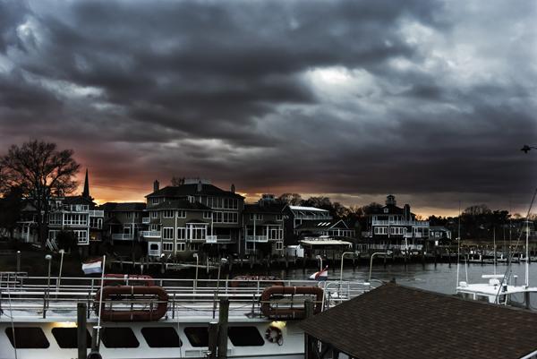 Lewes harbor Sunset 12.10.2014_9624
