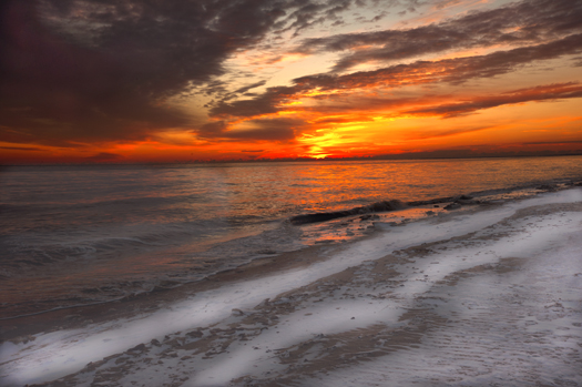 Sunrise Prime Hook in Snow 1.27.2013_4283